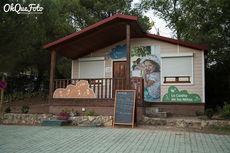 casa de los niños en camping Monte Holiday