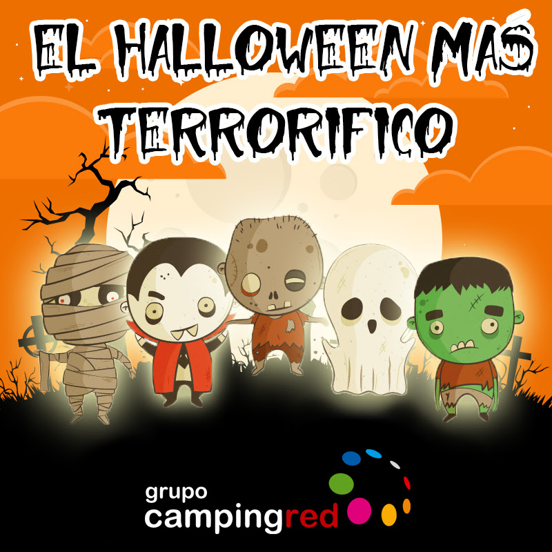 Halloweeen Campingred
