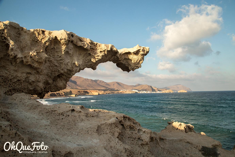 Duna fósil Playa Los Escullos