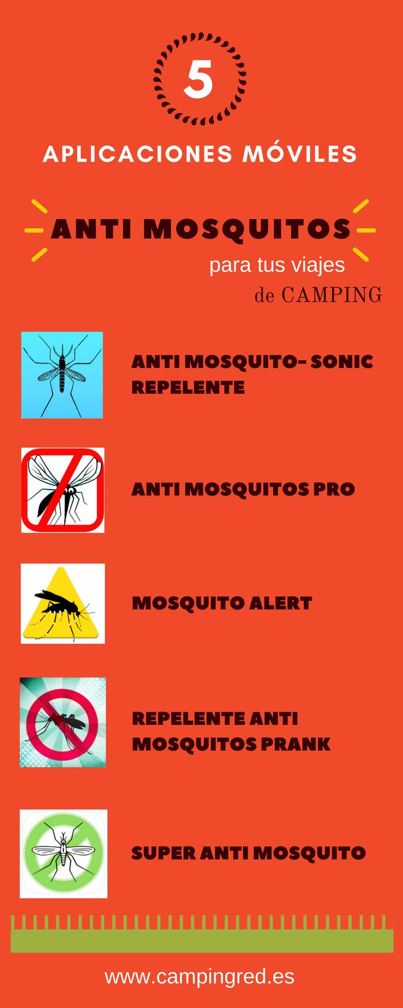 aplicaciones móviles antimosquitos