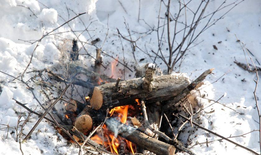 invierno camping