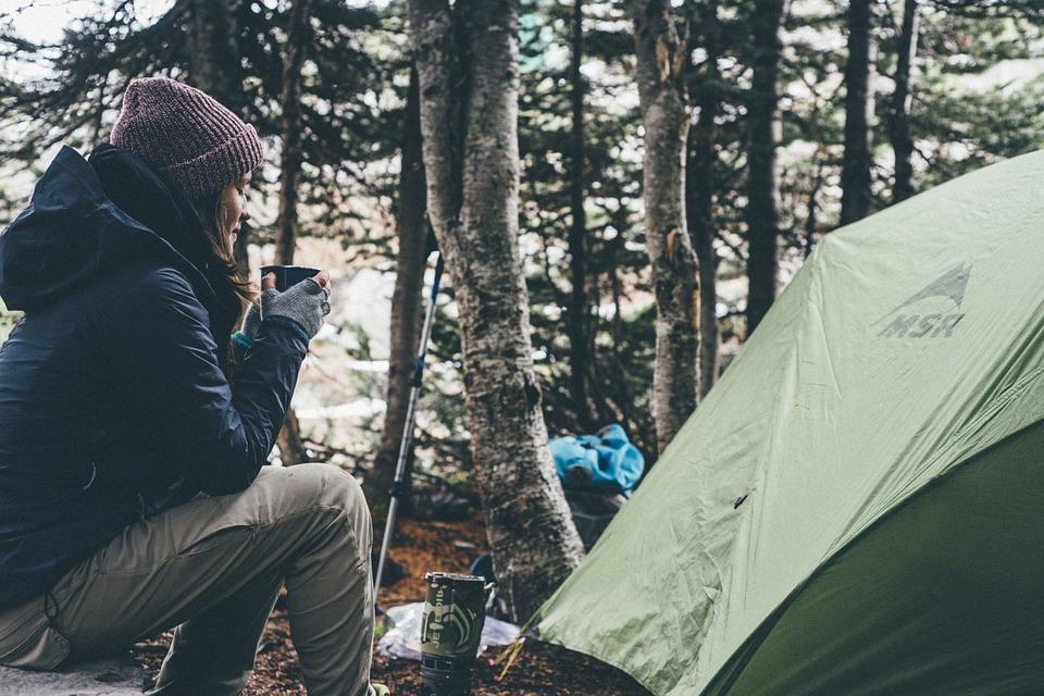 millennials camping