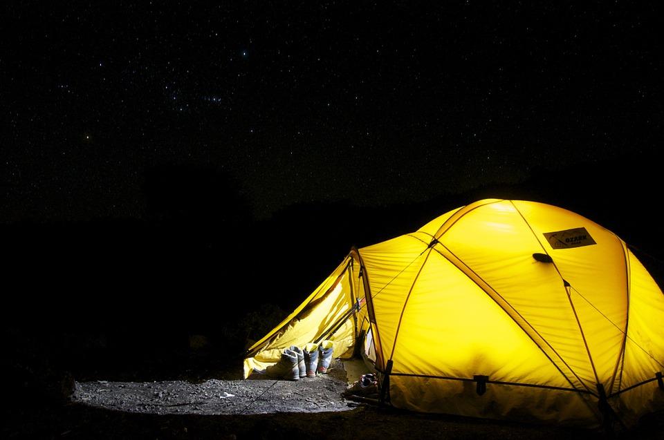 diciembre camping