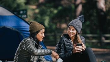 camping invierno