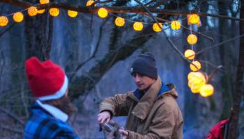 Navidad camping